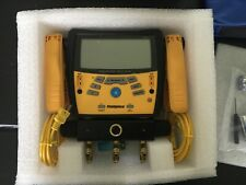 Used Only 1 Time! Fieldpiece Sman360 3-Port Digital Manifold & Micron Gauge