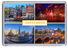 Amsterdam Fridge Magnet #3