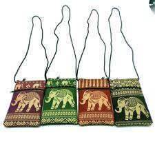 4 Pcs Thai Elephant Phone Pouch Bag Neck Strap