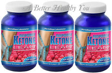 3 x RASPBERRY KETONE CLEANSE 1200mg antioxidant WEIGHT colon BODY DETOX CLEANSER