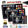"""2Din 7""""/9""""/10.1"""" Car Stereo Radio Android 9.1 GPS WIFI Bluetooth Mirror Link MP5"""