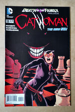CATWOMAN #13 2nd PRINT DEATH OF THE FAMILY DC COMICS (2013) JOKER BATMAN