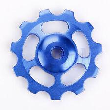 2pcs Aluminium Jockey Wheel Rear Derailleur Pulley SHIMANO SRAM 11T BLUE COOL