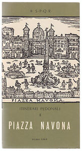 ITINERARI PEDONALI- PIAZZA NAVONA ROMA 1969-L3691