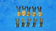 maytag hit & miss Briggs engine spark plug ends brass 10pcs.