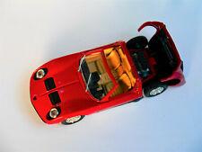 Lamborghini Miura Spider weinrot rot rouge rosso roja burgundy red, RIO in 1:43!