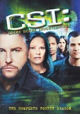 CSI CRIME SCENE INVESTIGATION TV SERIES COMPLETE FOURTH SEASON 4 New 6 DVD Set