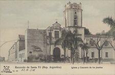 ARGENTINA SANTA FE IGLESIA Y CONVENTO DE LOS JESUITAS M.A.200 N° 21 V. COLMEGNA