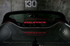 Pontiac Solstice Wind Deflector  blocker windscreen windstop Wind Restrictor ®