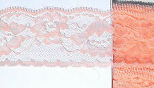 5 Metre lenght of peach single edge lace Approx. 50mm (5cm)
