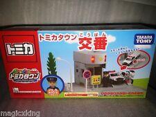 Tomy Takara Tomica Town Scene Police Box Japan Limited w Plakids RARE