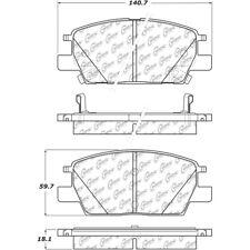 Disc Brake Pad Set fits 2018-2019 GMC Terrain  CENTRIC PARTS