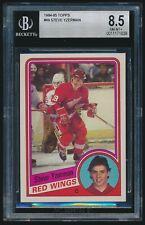 1984-85 Topps rookie #49 Steve Yzerman rc BGS 8.5