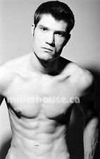 Lenox Fontaine Original B&W 35mm Film Negative Male Model Gay Interest Photo #33