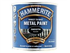 Hammerite HMMSFSB250 Finish Satin Black 250ml
