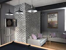 Stormy Sky Cast Brick Slips - Brick Cladding - Higgins Cladding - Sample
