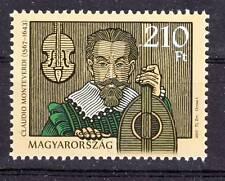 HUNGARY - 2017. Claudio Monteverdi - Music - MNH