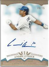 ANDRE ETHIER AUTO ON CARD # 28/75!!! 2011 Topps Tier One # CP-AE DODGERS!!!