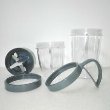 Replacement Juicer Accessory Cup blade lid Set For Nutri Bullet Blender 600 900W