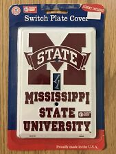 MISSISSIPPI STATE UNIVERSITY LIGHT SWITCH PLATE COVER - NEW