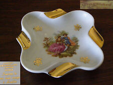 ancien vide poche porcelaine de Limoges Fragonard coupelle cendrier estampille