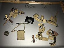 1/6 WWII US Web Gear Lot -  Dragon, Ultimate Soldier, GI  Joe ETC