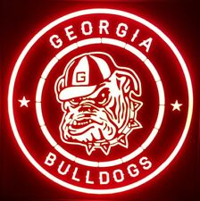 Custom Georgia Bulldogs 12 x 12 Man Cave Multi color LED Sign