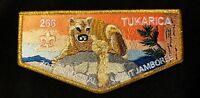 TUKARICA OA LODGE 266 ORE-IDA COUNCIL 2017 JAMBOREE GMY DELEGATE FLAP FEW MADE!!
