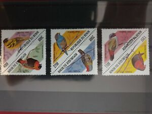 Benin - 1999 - Birds  - 6 stamps  - MNH