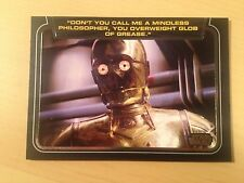 2013 Star Wars Galactic Files 2 # CL-7 Don't you call me a mindless philosopher