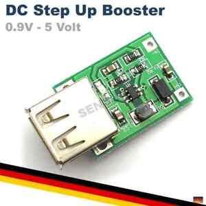 DC Step Up USB 0.9V-5V Booster Konverter 600MA Modul Spannungswandler
