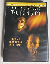 The Sixth Sense Pg-13 Dvd 2000 Collectors Edition Series