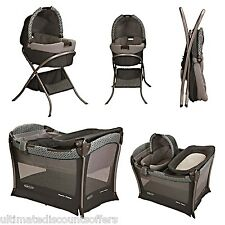 Baby Portable Bassinet PlayYard Infant Nursery Folding Sleep Bed Playpen Changer