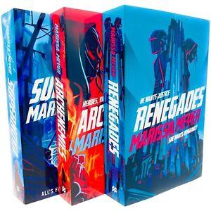 Renegades Series 3 Books Collection Set by Marissa Meyer Renegades,  Archenemies