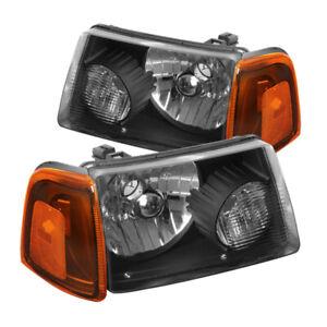 Driver /& Passenger Sides Fits 2001-2005 Ford Ranger PAIR of Corner Lights