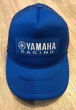 YAMAHA FACTORY RACING HAT CAP BMX BIKE SNAP BACK BK BRAND BLUE MX YZF YFZ RI R6.