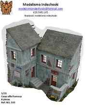 RT diorama villa francesa en ruinas 1:35 HOUSE BUILDING FACADE BASE FIGURE WALL