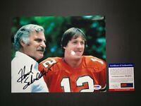 HOWARD SCHNELLENBERGER MIAMI HURRICANES SIGNED 8X10 PHOTO PSA/DNA COA Y61973