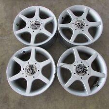 Set 4 cerchi lega Stilauto 7Jx15 4x100 ET33 Alfa Romeo usati (17659 20W-1-B-1)