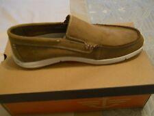 Dockers Alcove Slip-on Shoes Leather Tan Men's 11.5 NIB
