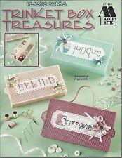 Trinket Box Treasures ~ Annie'S Attic plastic canvas