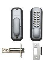 Briton bouton poussoir mécanique digital lock argent code pin de sécurité porte de bureau