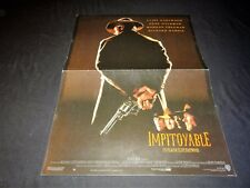 clint eastwood  IMPITOYABLE   ! affiche cinema western