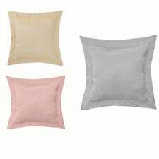 """Faux Silk Oxford Luxury Plain Cushions (18x18"""") - 4 PACK FILLED CUSHIONS"""