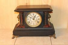 Antique Ingraham 8 Day Gonging Mantle Clock