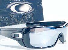 NEW! Oakley BATWOLF Black Ink POLARIZED Galaxy Chrome Mirror Sunglass 9101