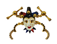 """Lunch at the Ritz """"Masquerade Mask"""" Mardi Gras Links Retired Style"""
