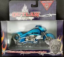 Toy Zone Arlen Ness Outlaw Steel Iron Legends Motorcycle 1/18 New