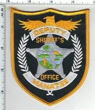 Manatee County Sheriff's Office (Florida) Deputy Shoulder Patch from the 1980's