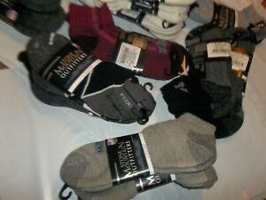Unisex  70% Merino Wool 1/4 Ankle Hiking Trail Socks M 3 PR  Ballston